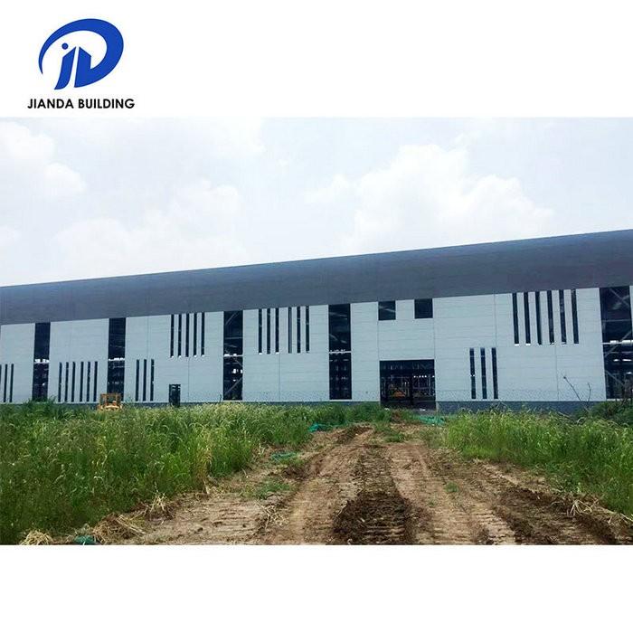 浙江钢结构仓库厂房车间